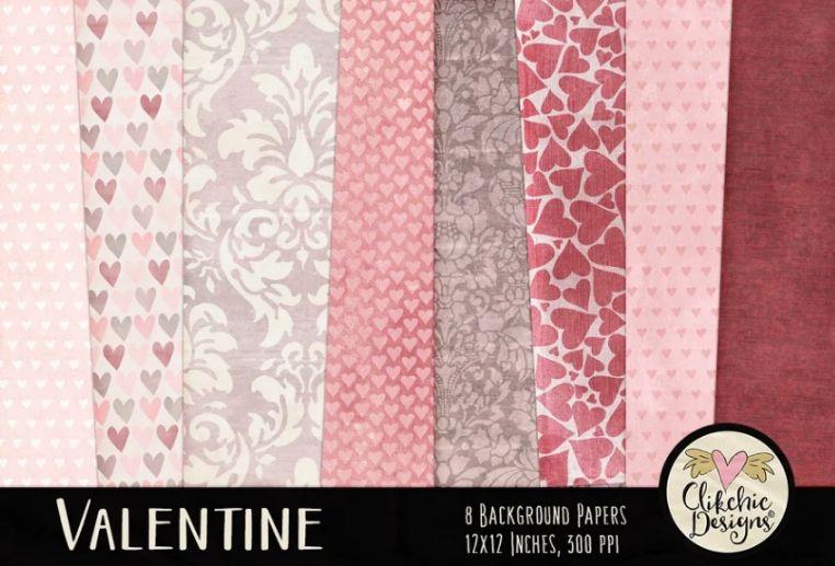 Valentines Style Background Design