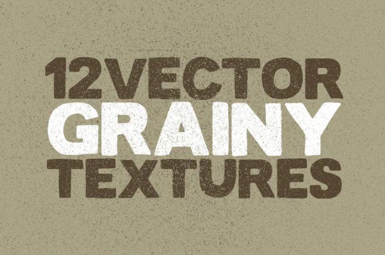 Vector Grainy Textures