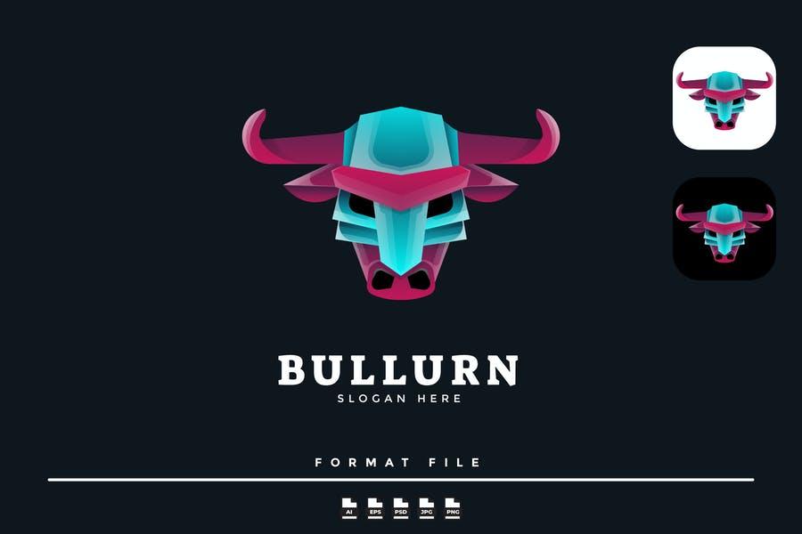 Vector Ready Bull Logotype