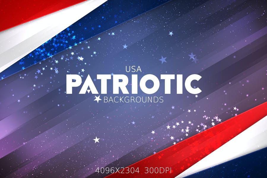 Vector USA Flag Background