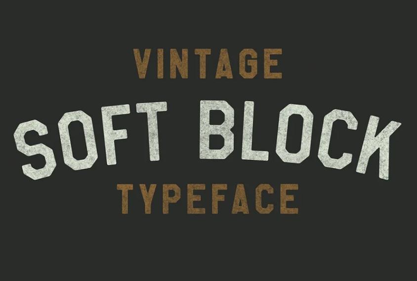 Vintage Athletic Typeface