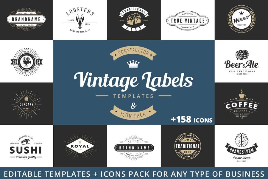 Vintage Branding Logo Design