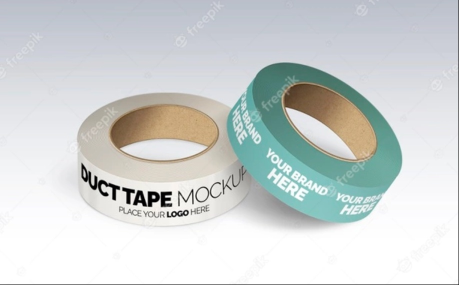 Vintage Duct Tape Mockup