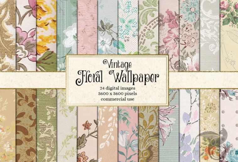Vintage Floral Style Wallpapers