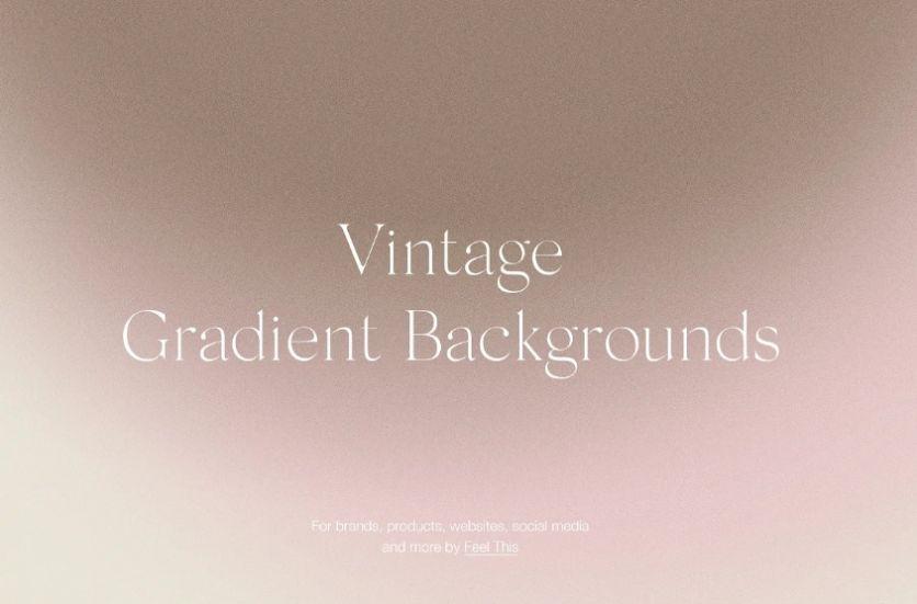 Vintage Gradient background Design