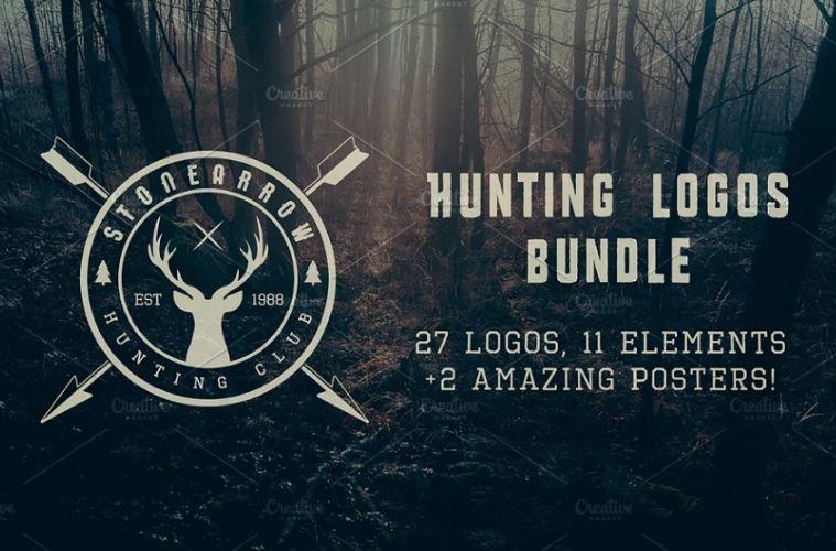 Vintage Hunting Logo Designs