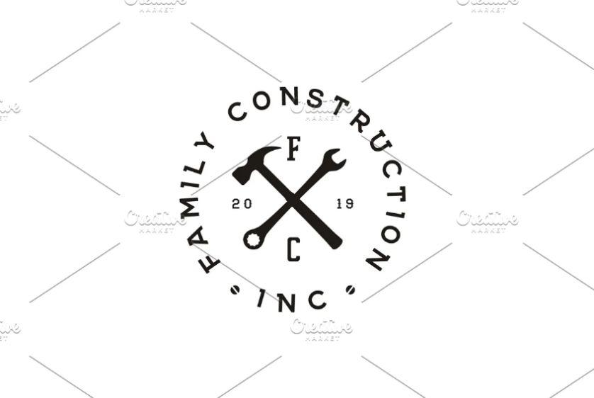 Vintage Repair Store Logo Design