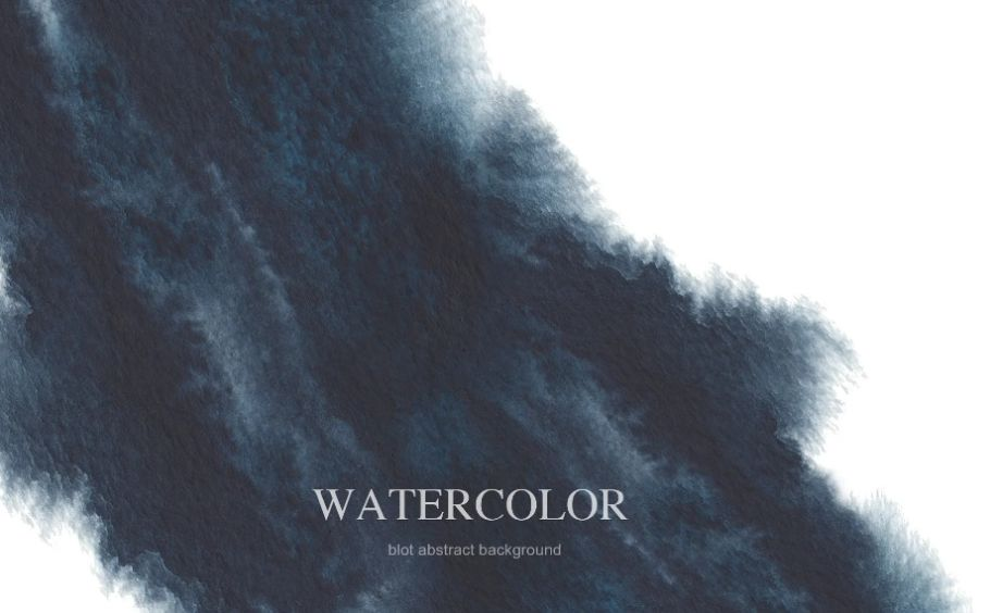 Watercolor Ink Blot Wallpaper