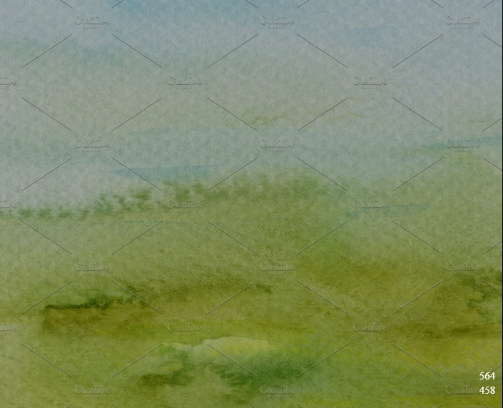 Watercolor Painter Background