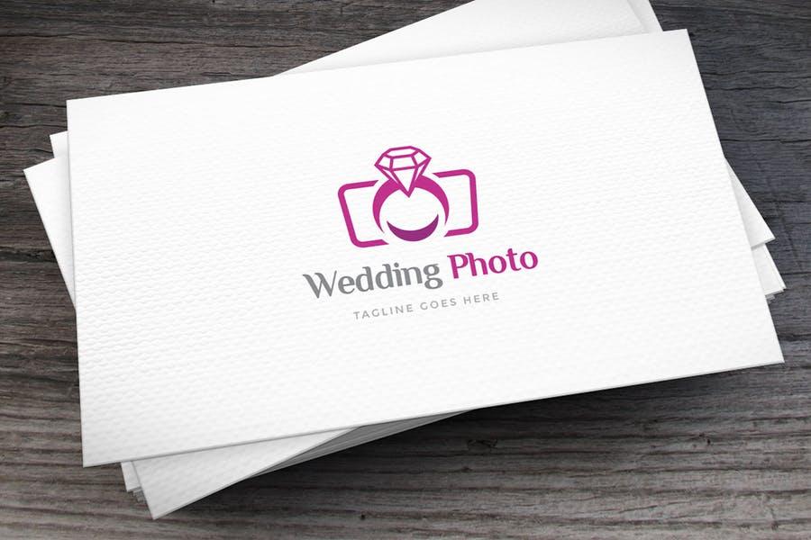 Wedding Photography Logo Identity