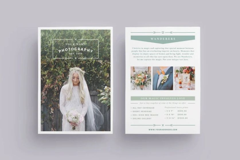 11+ Best Wedding Photography Flyer Template Download