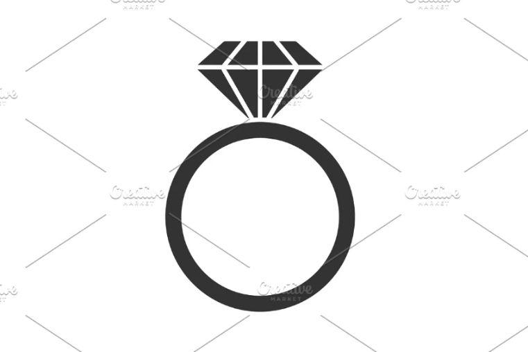 Wedding Ring Logotype Design