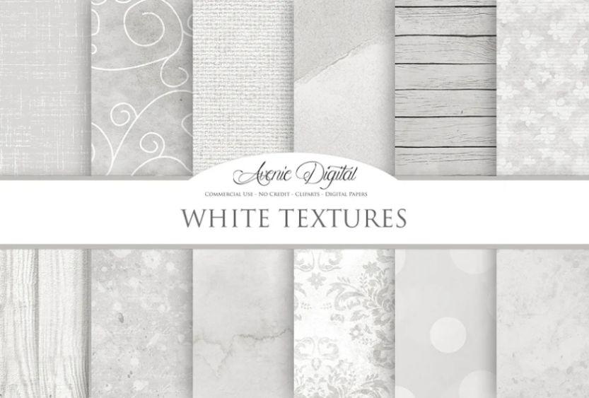 White Wallpaper Background Design