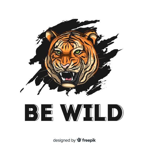 Wild Tiger Logo Concept