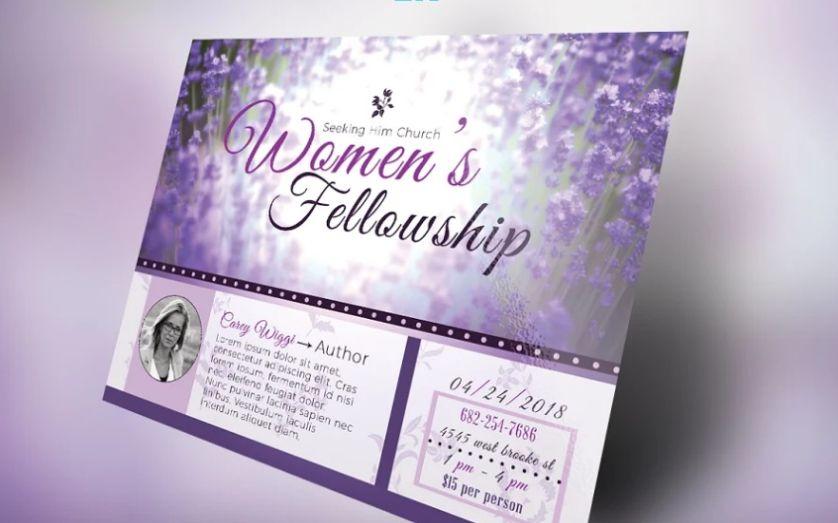 Women Support Group Flyer Template