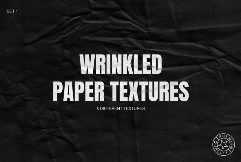 Wrinkled Paper Textures Pack