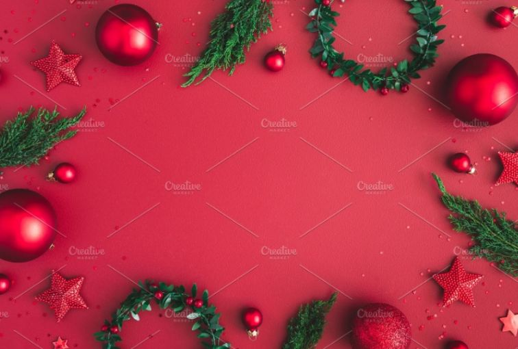 Xmas Red Backgrounds