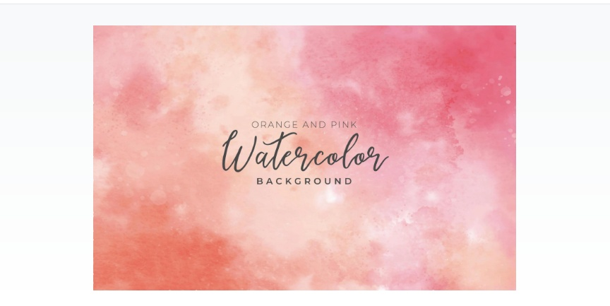 orange and Pink Backgrounds