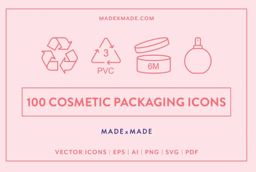 100 Cosmetics Packaging Mockups