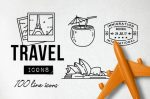 15+ FREE Travel Icons SVG EPD Download