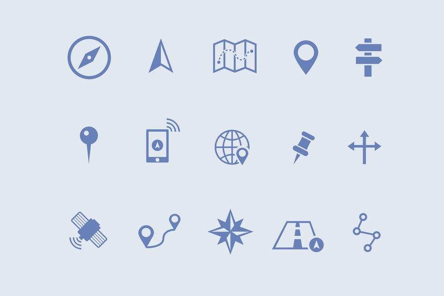 15 Unique Navigation Icons