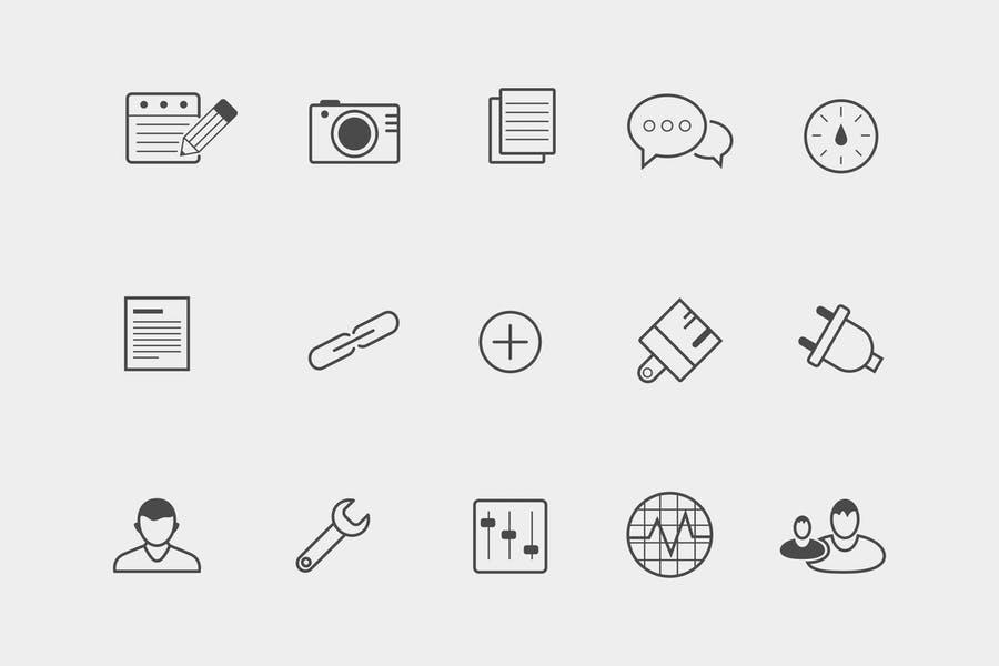15 WordPress Blog Icons