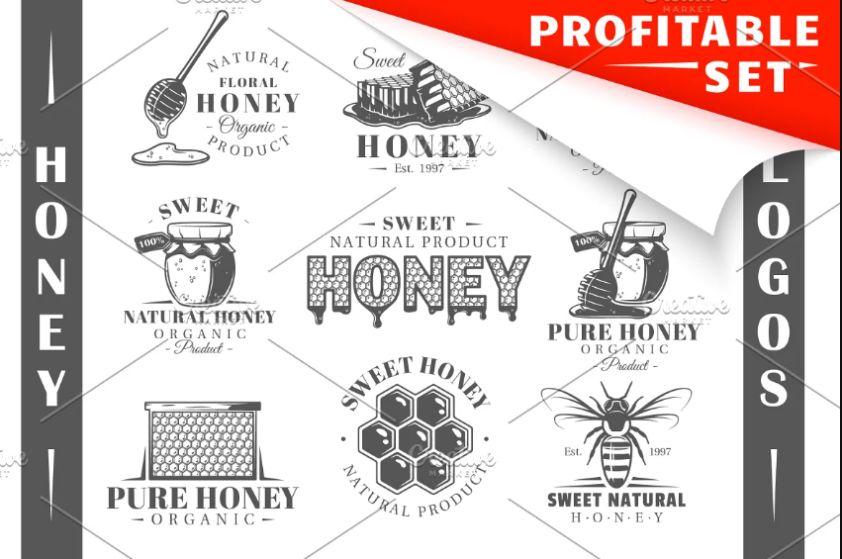 18 Unique Logo Designs Set