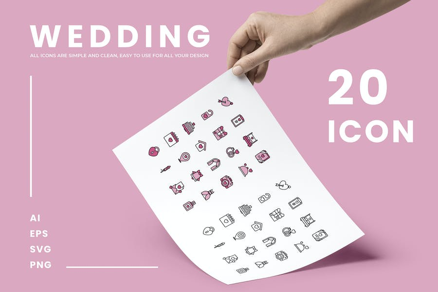 20 Love Icon Designs