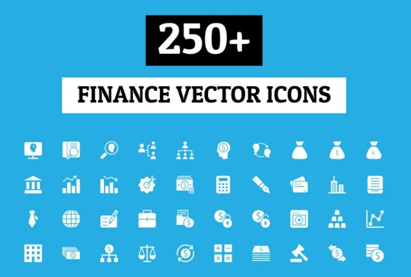 18+ Best Finance Icons Download EPS | SVG | AI