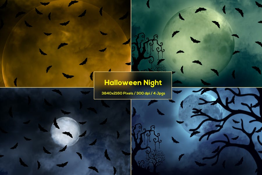 4 Scary Night Wallpapers