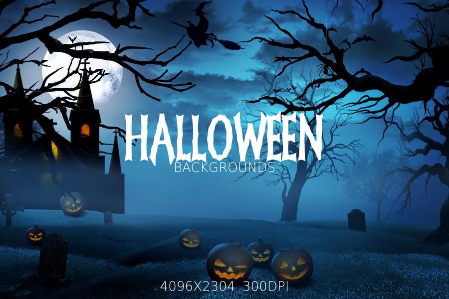 4 Spooky Halloween Wallpapers
