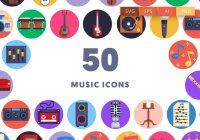Unique Music Icons