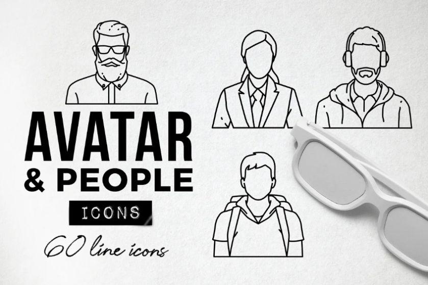 60 Unique Profile Avatar Icons