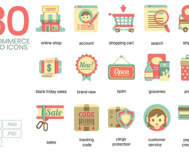 20+ FREE eCommerce Icons Download SVG EPS AI