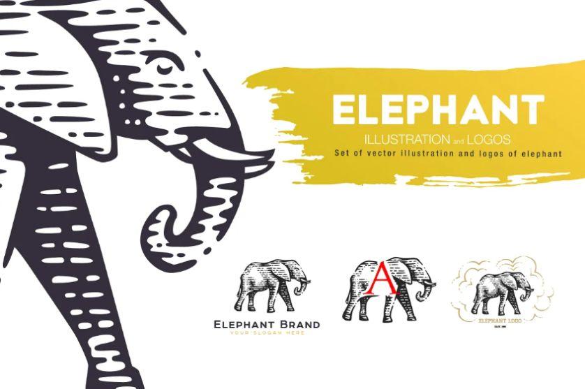 Abstract Animal Logo Designs