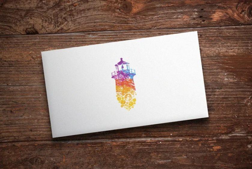Abstract Lighthouse Logo Design