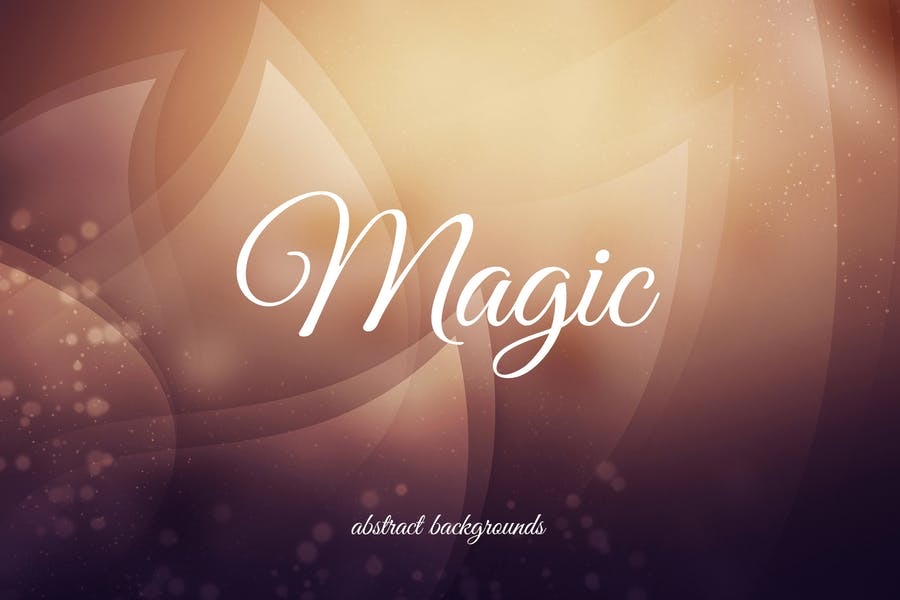 Abstract Magic Style Wallpaper