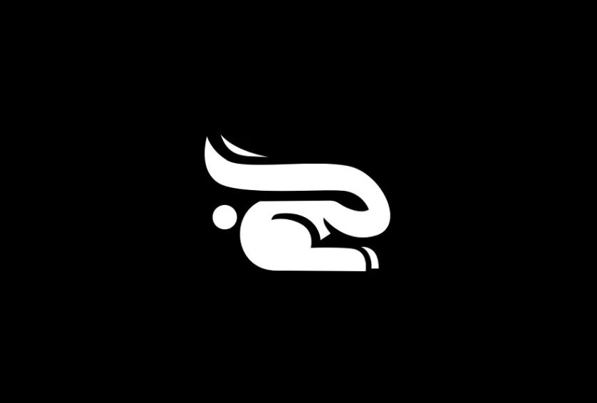 Ai and EPS rabbit Logo Design