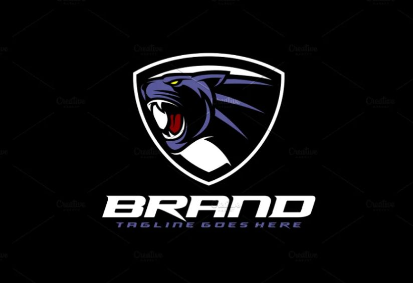 Angry Panther Logo Designs