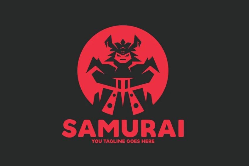 Angry Samurai Identity Design