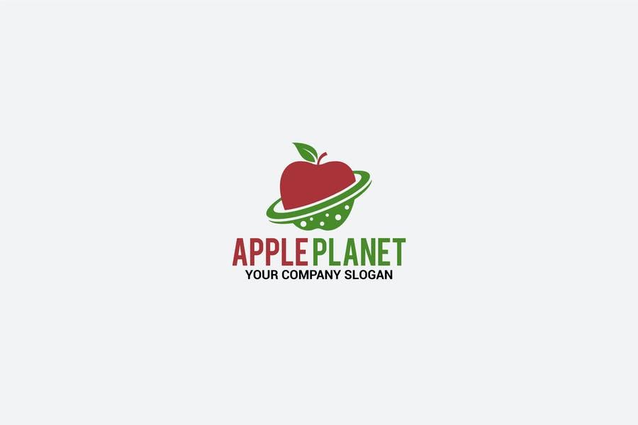 Apple Planet Identity Design