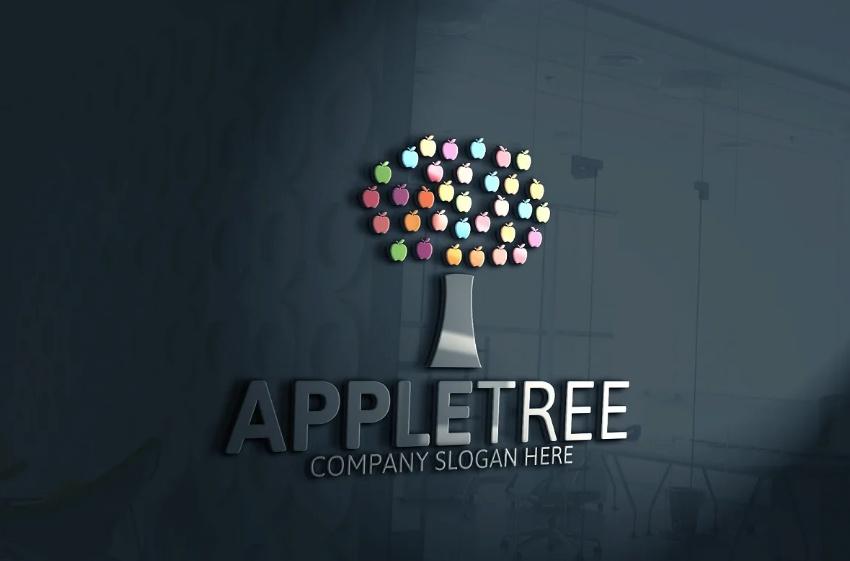 Apple Tree Identity Design