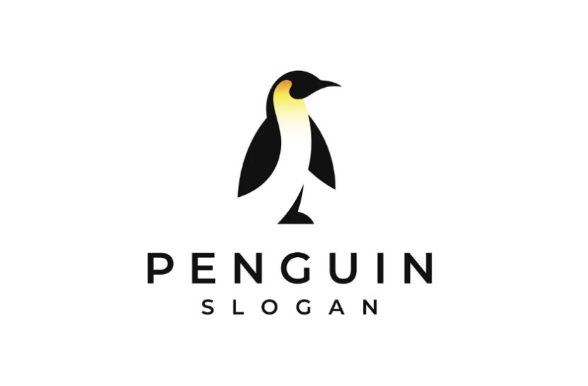 Arctic Bird Logo Design Template