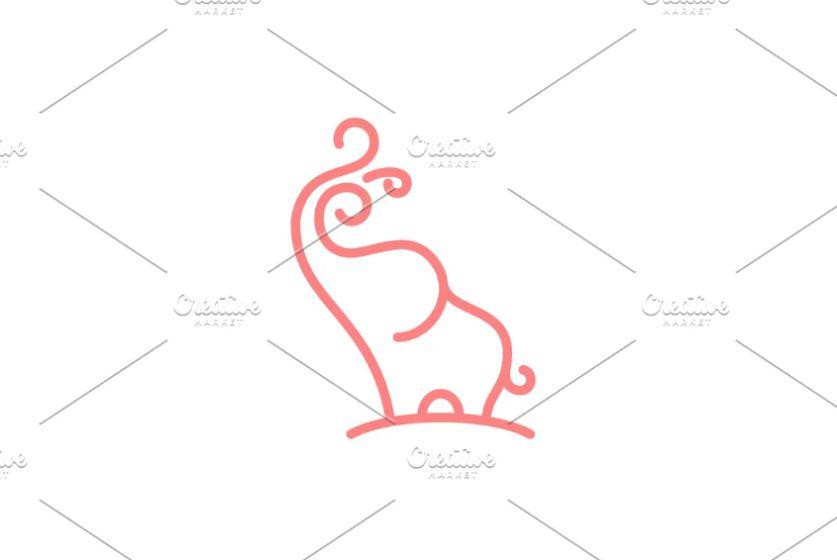 Baby Elephant Identity Designs
