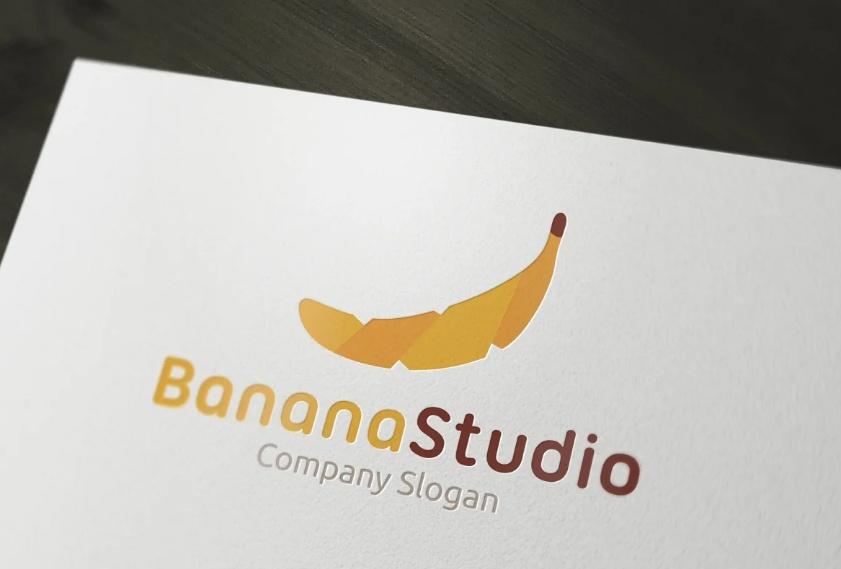 Banana Studio Identity Design