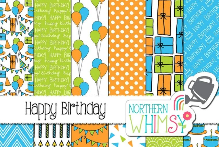 Boys Birthday Party Backgrounds