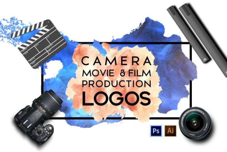 Camera and Film Production Logo Designs