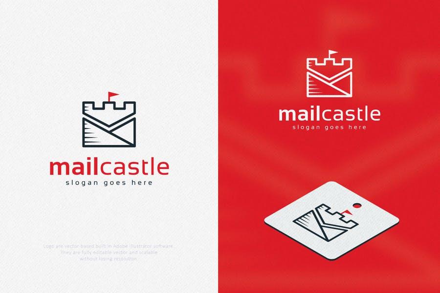 Castle Style Logo Design