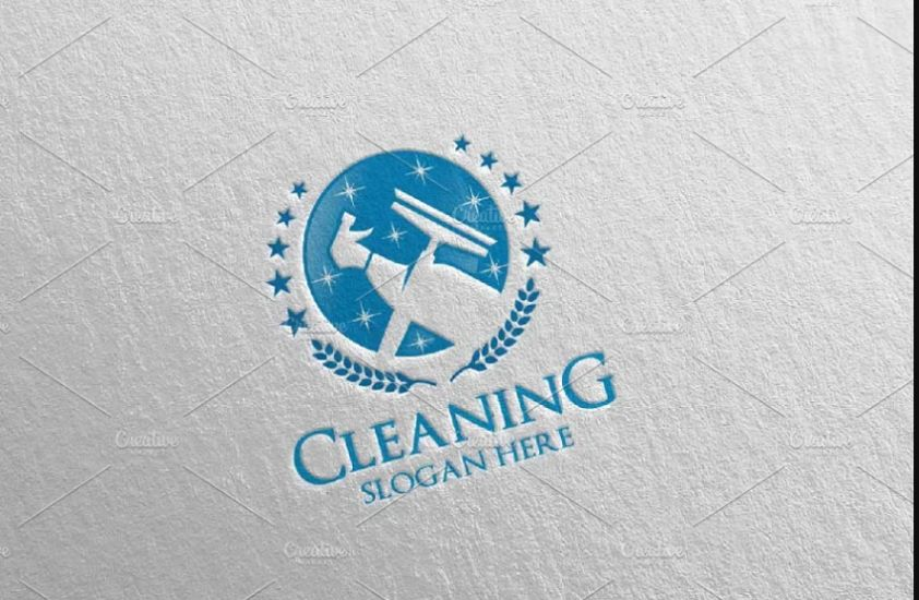 Ceaning Services Vector Logo