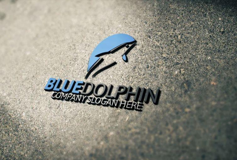 Creative Dolphin Logo Idea